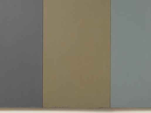 Brice Marden Shunt 1972 oil and beeswax on canvas...