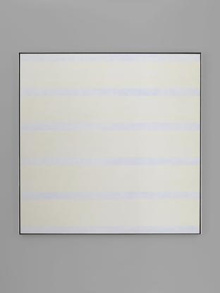 Agnes Martin Untitled #15 (Peace) 1996 acrylic and...