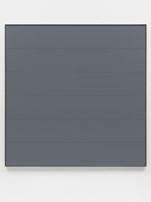 Agnes Martin Untitled #5 1989 acrylic and graphite...