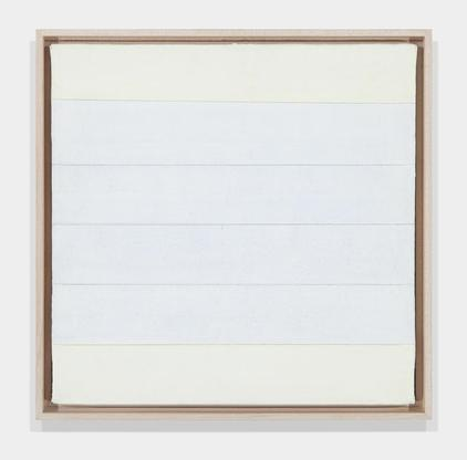 Agnes Martin Untitled ca. 1995-99 acrylic and grap...