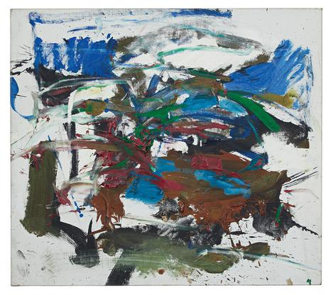 Joan Mitchell Untitled 1960 oil on canvas 26 1/8 x...