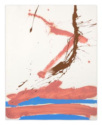 Robert Motherwell Beside the Sea No. 41 1966 oil a...