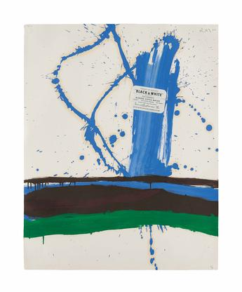 Robert Motherwell Beside the Sea, with Black and W...