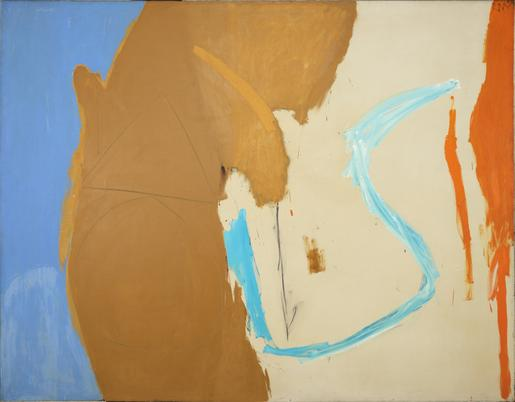 Robert Motherwell California 1959 oil and charcoal...