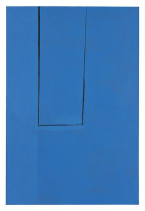 Robert Motherwell Open #93: In Medium Ultramarine...