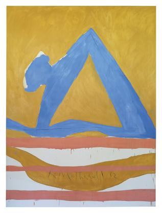 Robert Motherwell Summertime in Italy, No. 28 1962...