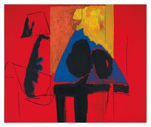 Robert Motherwell The Studio 1987 acrylic and char...