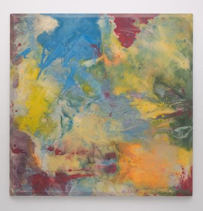 Sam Gilliam Natural 1971 acrylic on canvas with be...