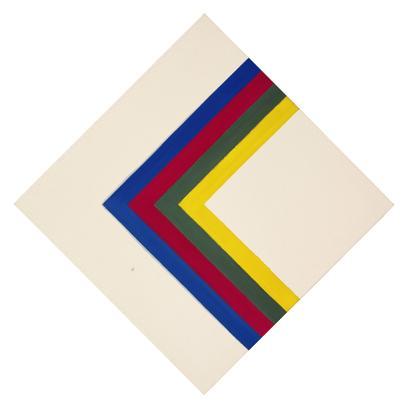 Kenneth Noland Sail 1964 acrylic on canvas 63 1/2...