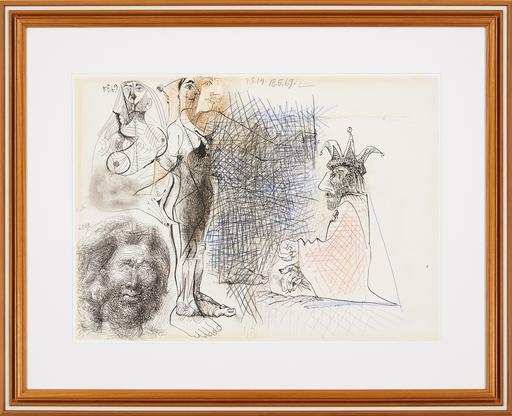 Pablo Picasso, Nus, Tête d'Homme et Pers...