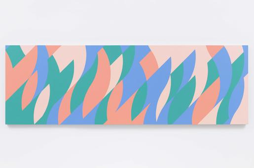 Bridget Riley Paired Colours 2001 oil on linen 39...