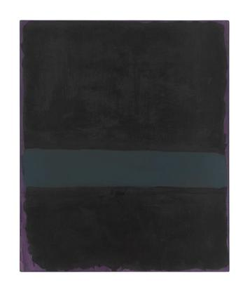Mark Rothko Untitled 1969 oil on paper mounted on...