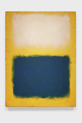 Mark Rothko Untitled (White, Blue-Green on Yellow)...