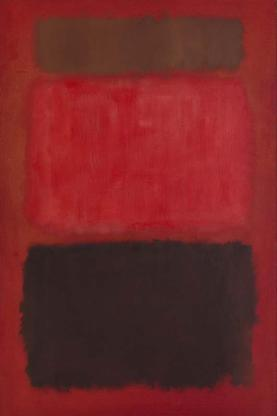 Mark Rothko Browns and Blacks in Reds 1957 oil on...