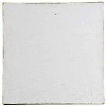 Robert Ryman Untitled 1965 oil on canvas 10 x 10 i...