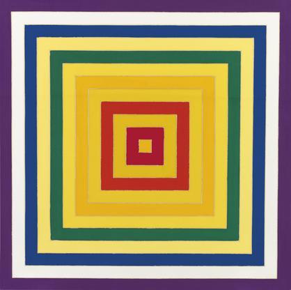Frank Stella,6. Scramble: Ascending Yellow V...
