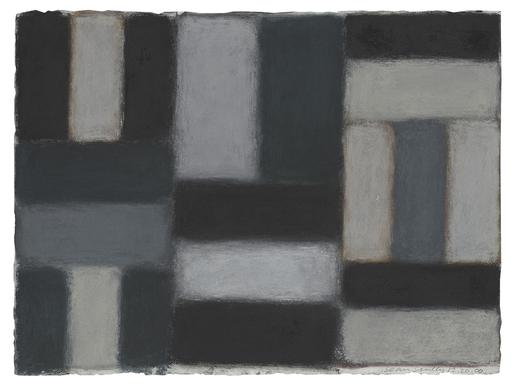 Sean Scully 12.20.00 2000 pastel on paper 22 1/2 x...