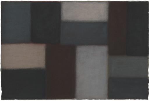 Sean Scully 1.11.11 2011 pastel on paper 40 1/2 x...