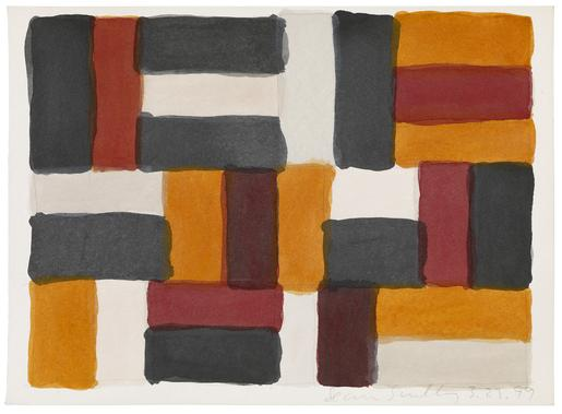 Sean Scully 3.23.99 1999 watercolor on paper 10 x...