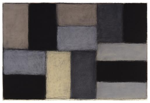 Sean Scully 5.4.03 2003 pastel on paper 40 x 60 in...