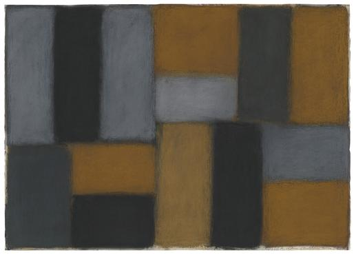 Sean Scully Chelsea 2.1.04 2004 pastel on paper 29...