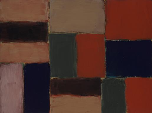 Sean Scully Small Barcelona Sand Wall 2004 oil on...