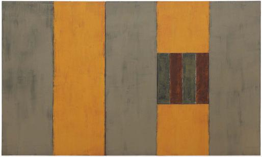 Sean Scully Summer 1987 oil on linen 60 x 96 inche...