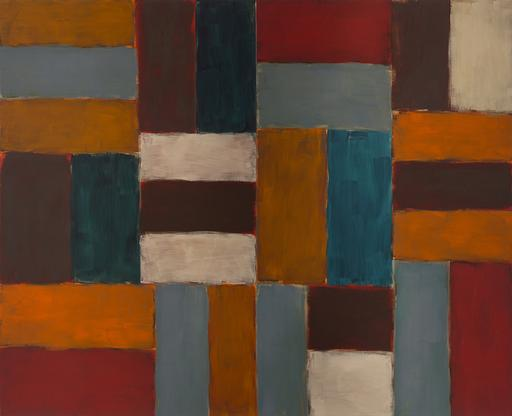 Sean Scully Wall of Light Heat 2001 oil on linen 1...