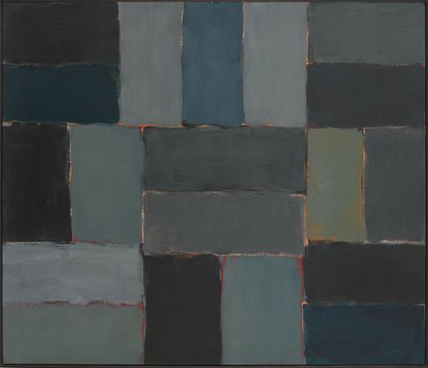 Sean Scully Wall of Light Sea 2002 oil on canvas 6...