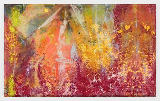 Sam Gilliam Spread 1973 acrylic on canvas 69 x 113...