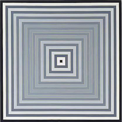 Frank Stella, Pratfall, 1974, acrylic on canvas, 1...