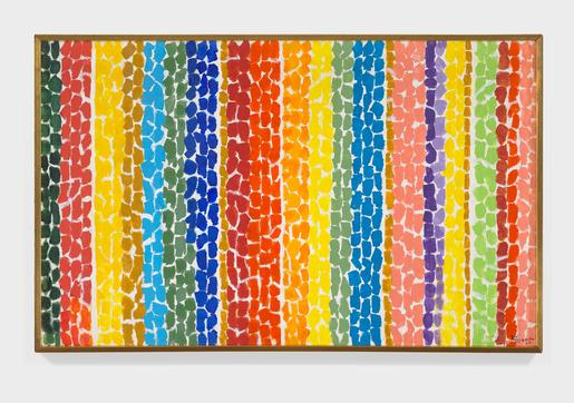 Alma Thomas Orange Glow 1968 acrylic on canvas 29...