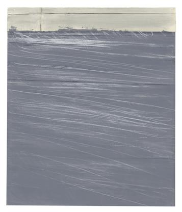 Cy Twombly Untitled 1969 - 1971 acrylic and crayon...