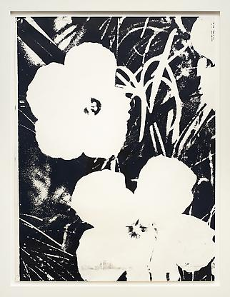 Andy Warhol, Flowers, 1964 unique screenprint on S...