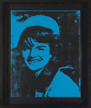 Andy Warhol, Jackie, 1964 synthetic polymer paint...