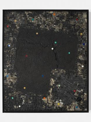 Jack Whitten Bright Moments: For R. R. Kirk 1995 a...