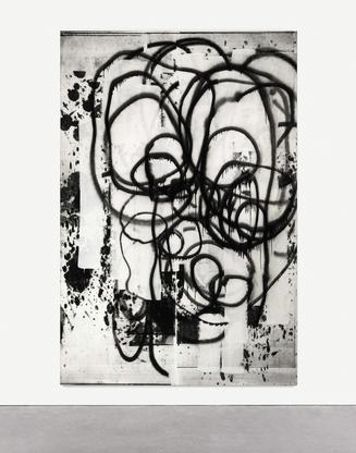 Christopher Wool Untitled 2002 enamel and silkscre...