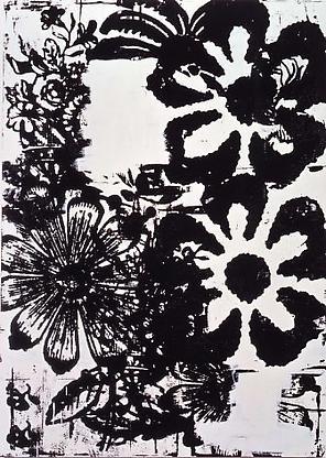 Christopher Wool, Untitled, 1993, enamel on alumin...