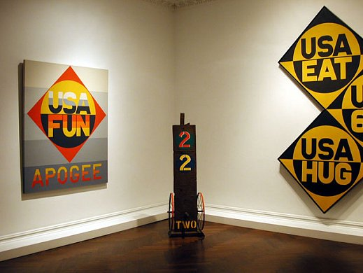 February 13 - March 22, 2003 - Letters, Words and Numbers - Robert Indiana: - Exhibitions