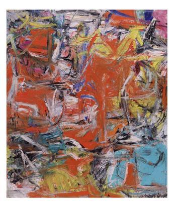 Willem de Kooning Composition 1955 oil, enamel, an...