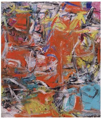 Willem de Kooning Composition 1955 oil, enamel, an...