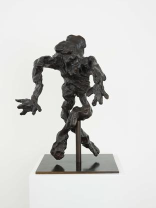 Willem de Kooning Cross-Legged Figure 1972 bronze...
