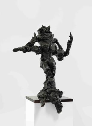 Willem de Kooning Hostess 1973 bronze 49 x 37 x 29...