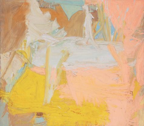 Willem de Kooning Pastorale 1963 oil on canvas 70...