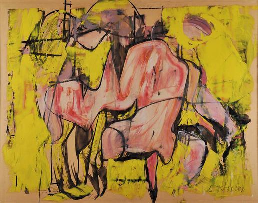 Willem de Kooning Red Torso circa 1948-49 oil on p...