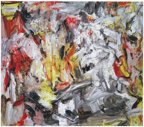 Willem de Kooning Untitled circa 1975-79 oil...