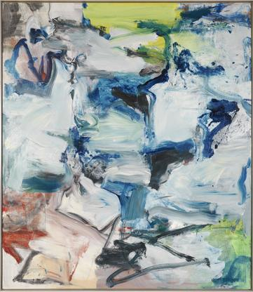 Willem de Kooning Untitled 1977 oil on canvas 88 x...