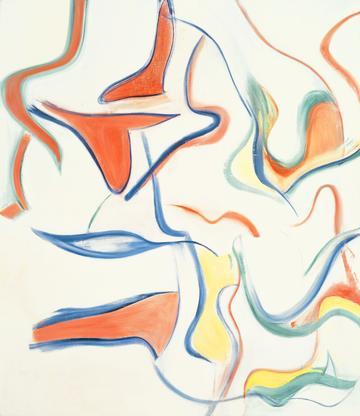 Willem de Kooning Untitled III 1983 oil on canvas...