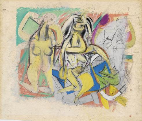 Willem de Kooning Untitled (Three Figures) 1...