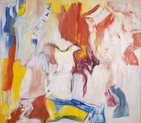 Willem de Kooning Untitled VI 1981 oil on canvas 7...